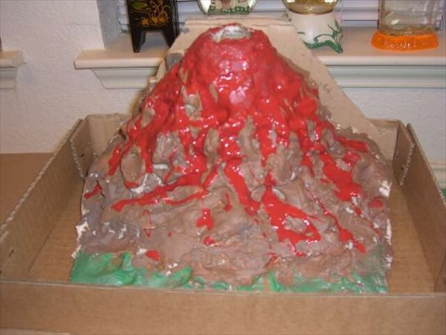 How to Make a Volcano for Kids