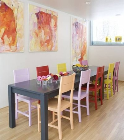 How to Paint Dining Room Table and Chairs