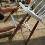 How to Revamp a Wooden Chair