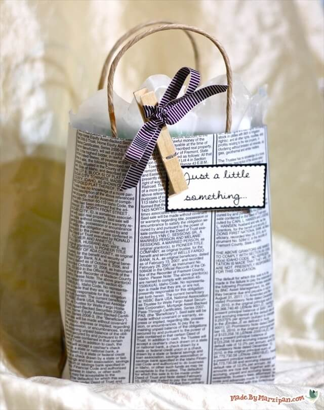diy gift bag ideas