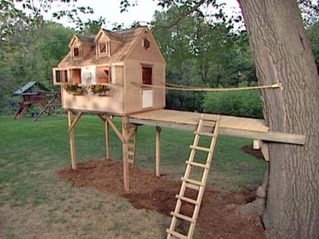 DIY tree house for Kids