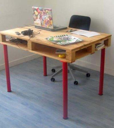 adorable computer desk DIY