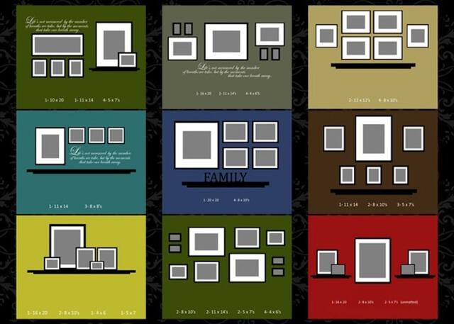 DIY Photo Gallery Wall