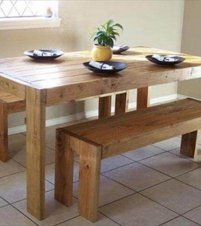 DIY Modern farm table