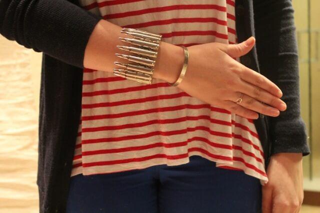 DIY: Bullet Cuff Bracelet