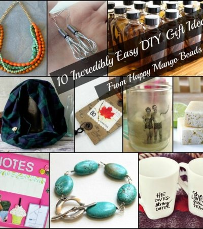 10 Amazing Homemade DIY Gifts