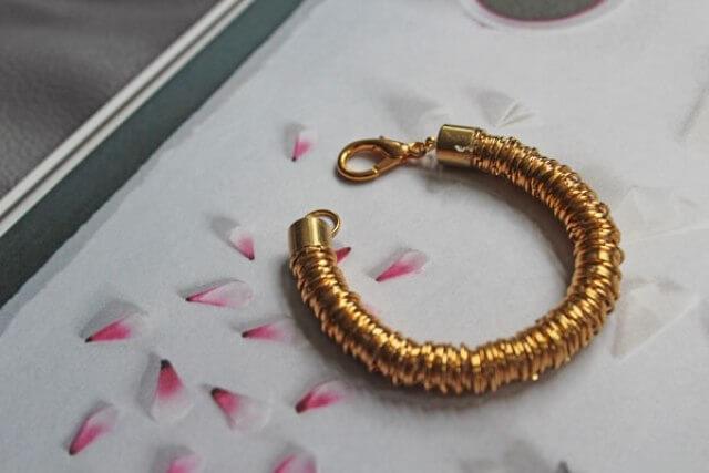 DIY: Jump Ring Coil Bracelet