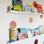 DIY Kids Room Book Storage