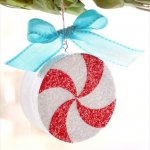 Make Your Tree Ornament – DIY Peppermint Ornament