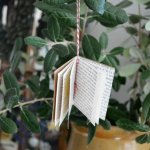 Tiny Book Ornament - DIY