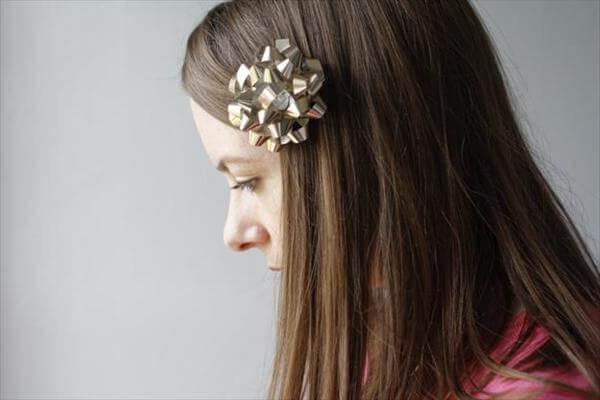 bow hair clip tutorial