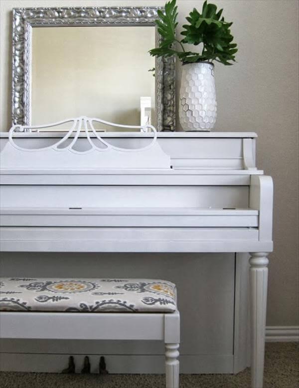 diy old piano