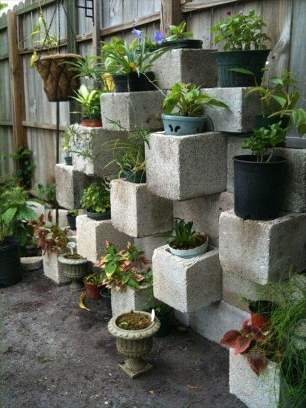diy vertical garden project
