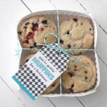 handcrafted muffin gift basket