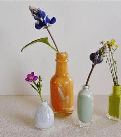 handmade tiny bud vases