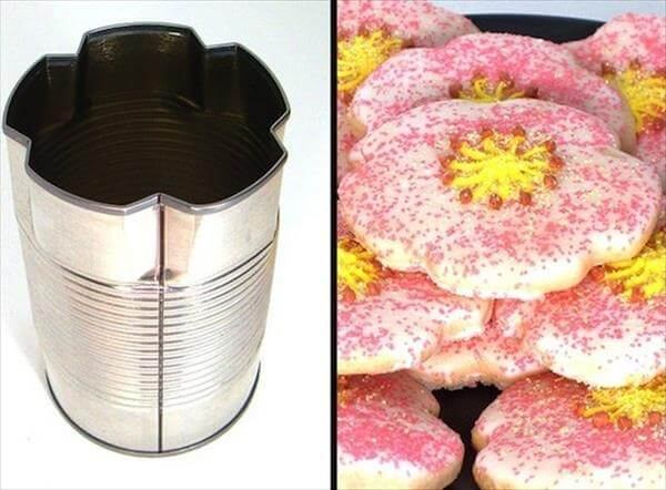 tin can cookie cutter