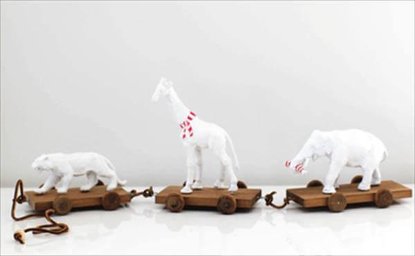 diy animal toy train
