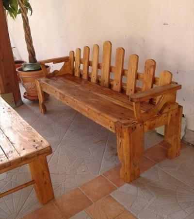Outdoor DIY Bench