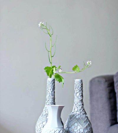 upcycled vases diy