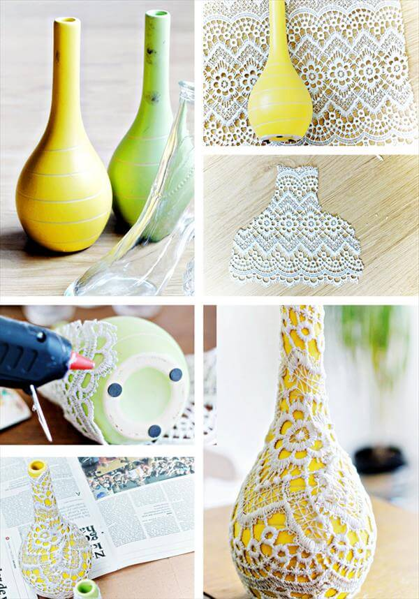 diy vases upcycling