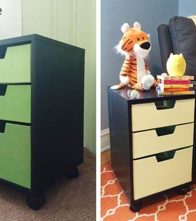 Before and After Side table