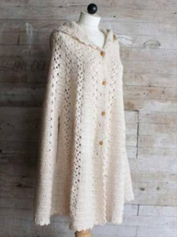 trendy winter crochet pattern