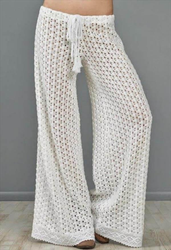 handmade crochet summer pant pattern