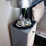 diy bedside table ikea
