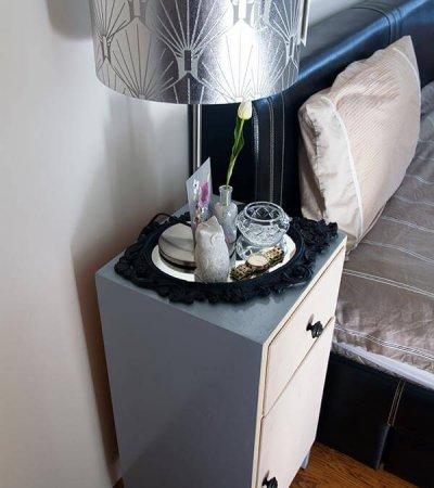 diy bedside table ikea