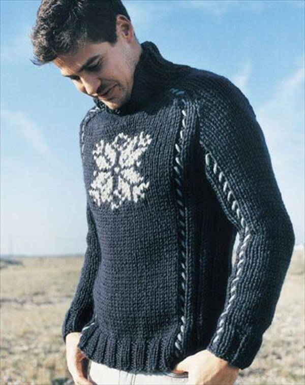 crochet free and chic pattern