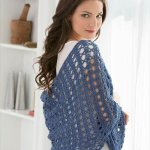 chic weekend shawl pattern