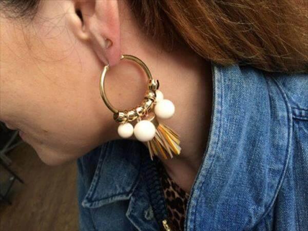 diy holst and lee earrings