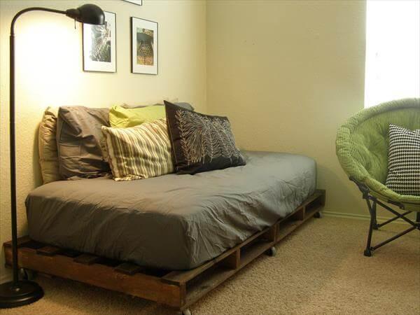 redeemed pallet bed frame