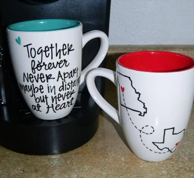 Long Distance Mug Gift