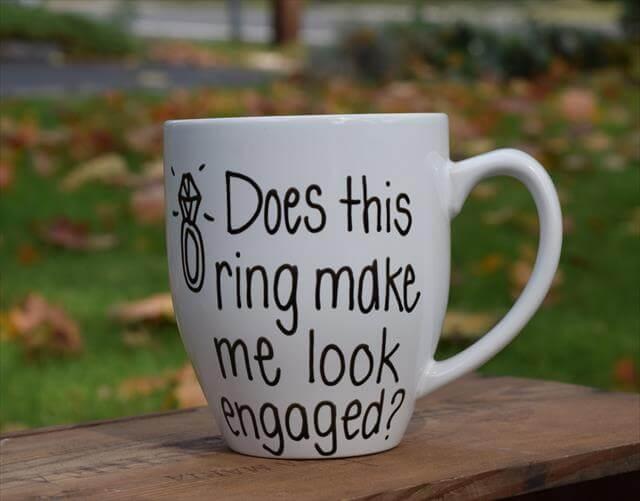 Ring Mug Gift