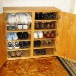 diy simple shoes rack