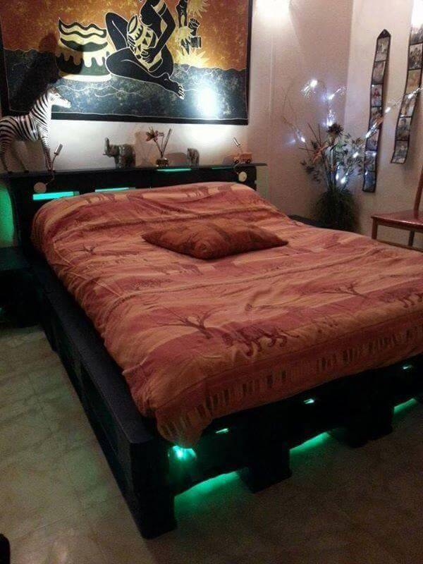 pallet bed cushion