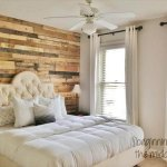 DIY Pallet Wall Decor Ideas - Pallet Bedroom Wall