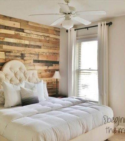 DIY Pallet Wall Decor Ideas - Pallet Bedroom Wall