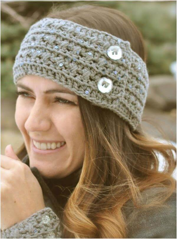 diy crochet head band