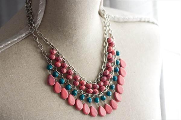 diy nail polish necklace