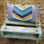 diy pallet swings