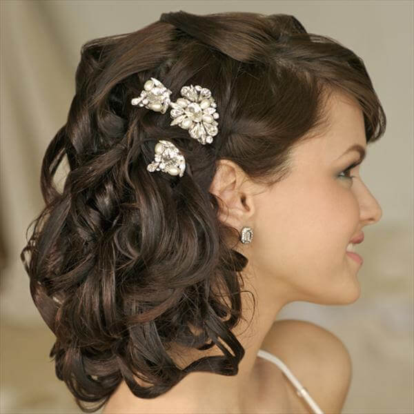 diy wedding hair style