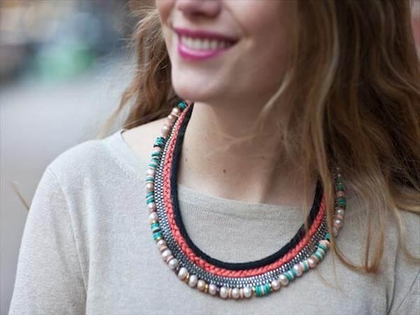 diy stylish necklace