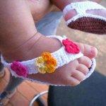 diy crochet sandal