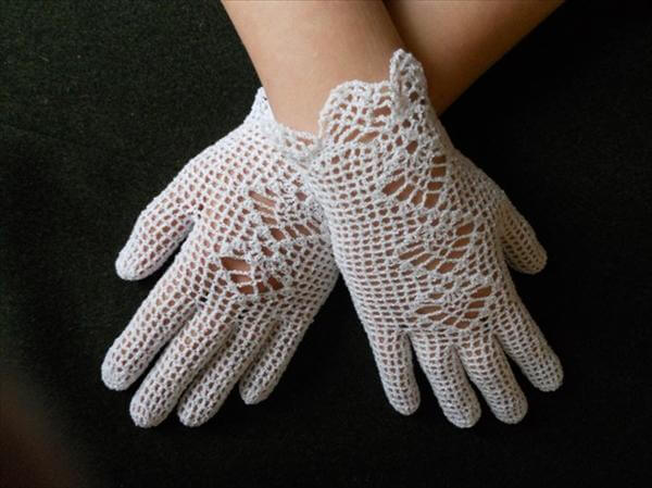 diy crochet gloves
