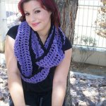 diy crochet cowl