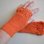 diy crochet gloves pattern