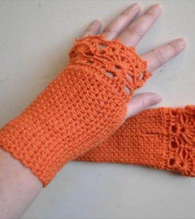 diy crochet gloves pattern