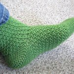 diy crochet socks